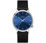 Kane Blue Arctic Black Mesh Horloge