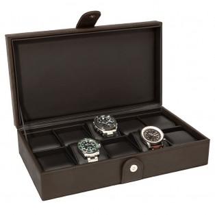 Horlogebox La Royale Classico 10 Brown