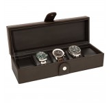Horlogebox La Royale Classico 5 Brown