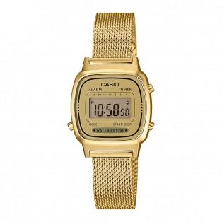 Casio LA670WEMY-9EF Vintage Horloge Mesh