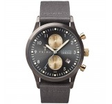 Triwa Walter Lansen Chrono Gray Canvas Classic LCST101