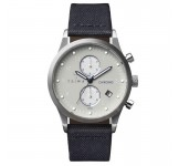 Triwa Shade Lansen Chrono Navy Canvas Classic LCST111