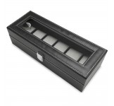 Luxalit Chicago Horlogebox voor 6 horloges