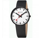Mondaine Evo 42mm Giant Black White