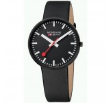 Mondaine Evo 42mm Giant Black Black