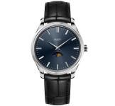 Maen Brooklyn 39 Moonphase Midnight Blue Horloge