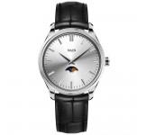 Maen Brooklyn 39 Moonphase Ice Grey Horloge