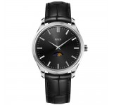 Maen Brooklyn 39 Moonphase Jet Black Horloge
