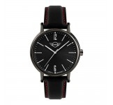 Mini 3HD horloge 38mm Zwart Rood