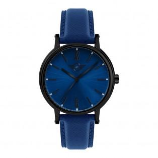 Mini 3HD horloge 38mm Zwart Blauw