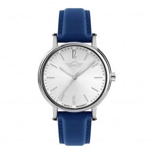 Mini 3HD Horloge 43mm Blauw
