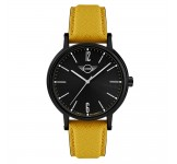 Mini 3HD Herenhorloge 43mm Zwart Geel