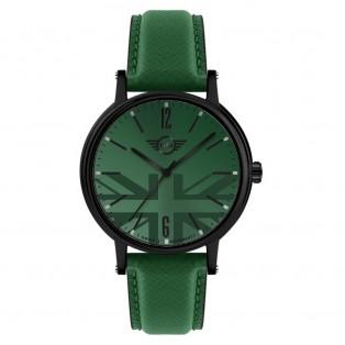 Mini 3HD Herenhorloge 43mm Zwart Groen