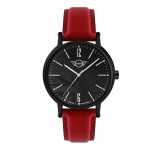 Mini 3HD Herenhorloge 43mm Zwart Rood