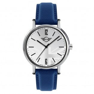 Mini 3HD Horloge 43mm Blauw