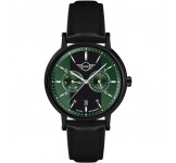 Mini Multi-Function Herenhorloge 43mm Zwart Groen