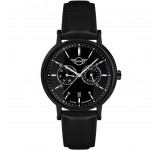 Mini Multi-Function Horloge 43mm Zwart