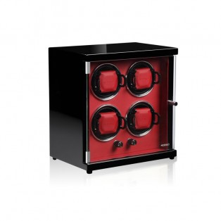 Modalo Ambiente Watchwinder Red voor 4 Automaten