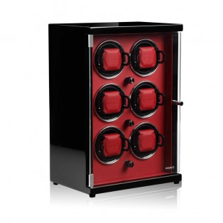 Modalo Ambiente Automatic Six Watch Winder Red