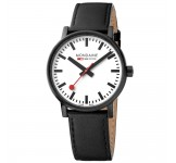 Mondaine Evo II 40mm Black White