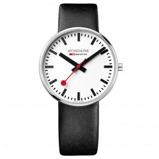 Mondaine Giant 42mm BackLight Horloge