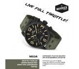 TW Steel Maverick 48mm MS34 Groen