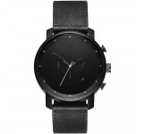 MVMT Chrono 45mm Black Leather