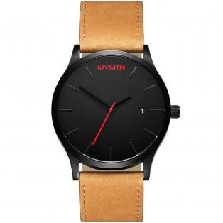 MVMT Classic 45mm Black Tan Horloge