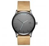 MVMT Classic 45mm Gunmetal Sandstone Horloge