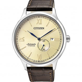 Citizen NJ0090-13P Automatic Titanium Horloge