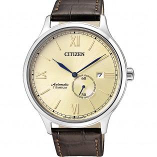 Citizen NJ0090-13P Automatic Titanium Horloge