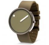 Picto 40mm Gun Armygroen Silicon horloge