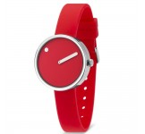 Picto 30mm Rood Silicon horloge