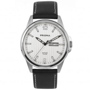 Prisma Pattern P1660 Herenhorloge 39mm