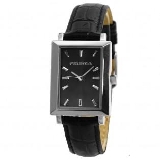 Prisma Classic P.2182 Rechthoekig Horloge Saffierglas