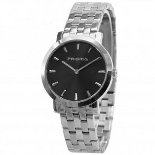 Prisma Classic P.2185 Herenhorloge Saffierglas