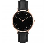 Rosefield the Bowery 38mm Black Black Rosegold BBBR-B11