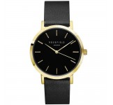 Rosefield the Gramercy 38mm Black Black Gold GBBLG-G36