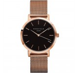 Rosefield the Mercer 38mm Black Rosegold MBR-M45