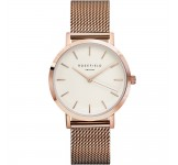 Rosefield the Mercer 38mm White Rosegold MWR-M42
