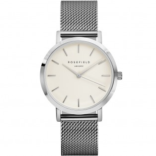 Rosefield the Mercer 38mm White Silver MWS-M40