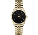Rosefield The Ace Black Gold Horloge