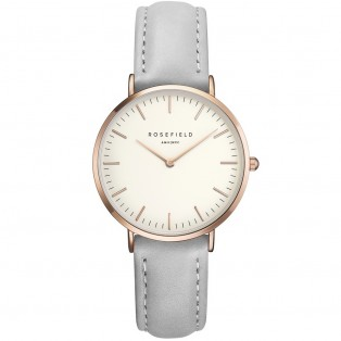 Rosefield The Tribeca White Grey Rosegold TWGR-T57