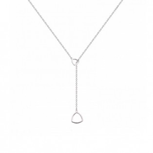 Rebel & Rose Necklace Triangle Love At First Sight