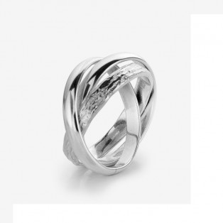 Rebel & Rose WITH LOVE Silver Ring RR-RG023-S