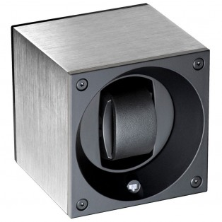 Swiss Kubik Masterbox Brushed Alu Watchwinder