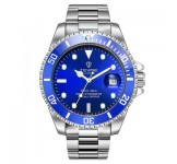 Tevise Automatic T801A Silver Blue