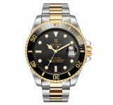 Tevise Automatic T801A Silver Gold Black