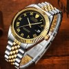 Tevise Automatic 629 Roman Silver Black Gold