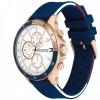 Tommy Hilfiger Bank Horloge TH1791778 Rosegold